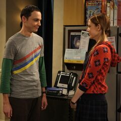 Sheldon and Ramona on their first date.