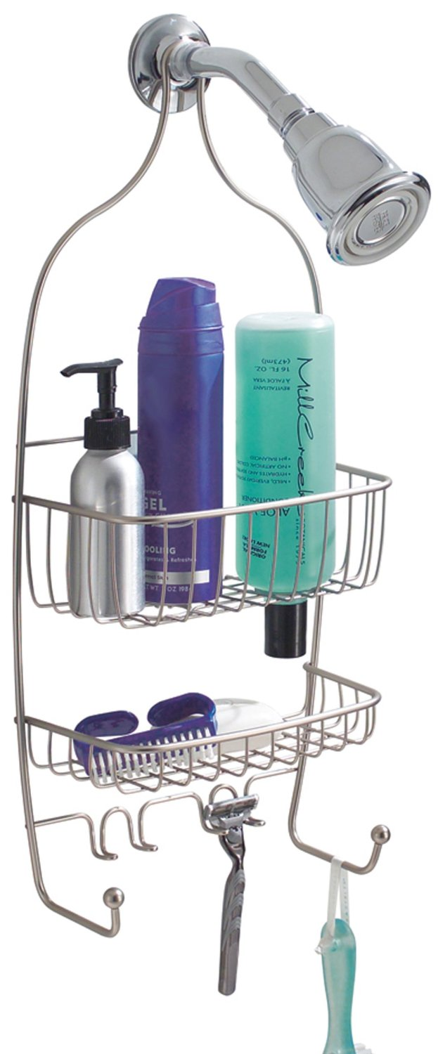 raphael shower caddy by interdesign ample shower room