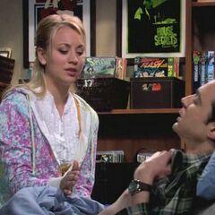 S01E11 - Penny rubs Vicks on