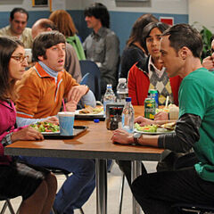 Amy and Sheldon's first fight and break-up.