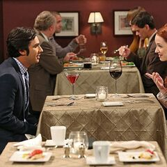Raj's first date with Penny.