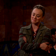 Penny amused when Sheldon says that he doesn't want to carry his laptop around on the end of stick like a hobo.
