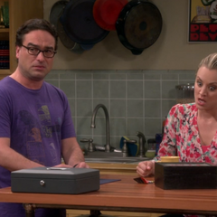 Realizing Sheldon saw them having coitus on camera.
