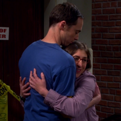 Sheldon asks Amy to join him on Mars.