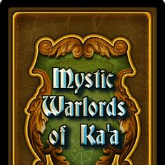 Mystic Warlords of Ka'a (back cover)