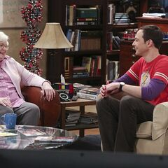 Sheldon and Meemaw.