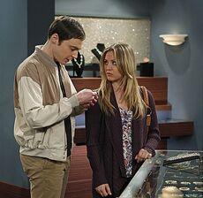 The shiny trinket maneuver Sheldon and Penny