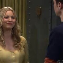 Sheldon asking Penny to give him an acting lesson.