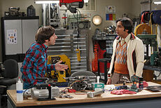 The Transporter Malfunction - Raj and Howard
