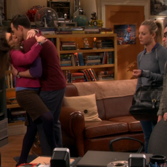 Shamy farewell turns into make out session.