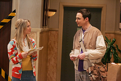File:The Spaghetti Catalyst - Sheldon and Penny meet in the hallway.jpg