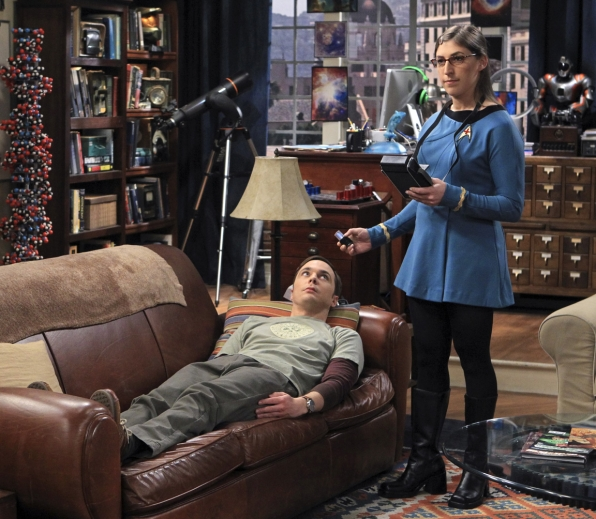 Image result for amy farrah fowler star trek