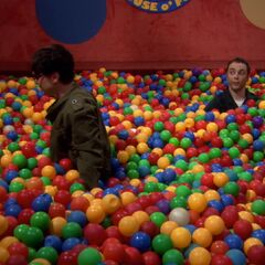 Bazinga in the ball pit