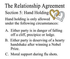 dating contract funny Pre relationship agreement part1/2funny both parties mutually agree to use the following terminology in describing their said dating: for the.
