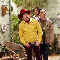 Going to go fetch Sheldon, pardner.