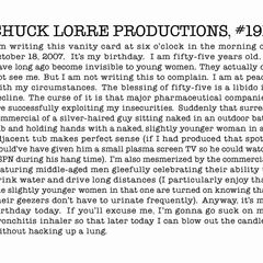 Chuck Lorre Productions, #191.