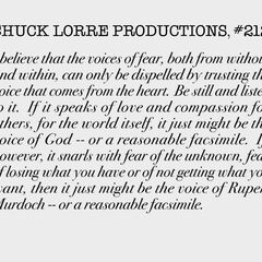 Chuck Lorre Productions, #212.