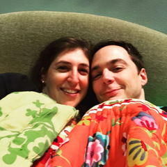 Sheldon and Amy have moved in together.