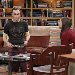 Amy discussing moving in with Sheldon.