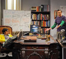 Sheldon and Raj's Office