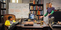 Sheldon and Raj's Office