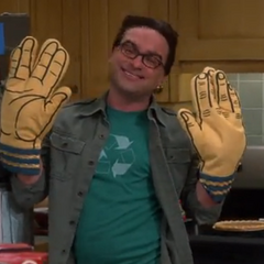 Spock oven mits.
