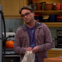 Leonard dealing with Sheldon's phobias.