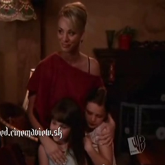 Kaley made up to look 30 ten years ago on Charmed.