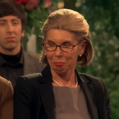 Beverly amused by Sheldon's comments against Alfred and Mary.
