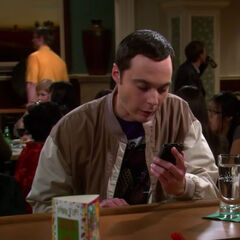 Sheldon at the bar.