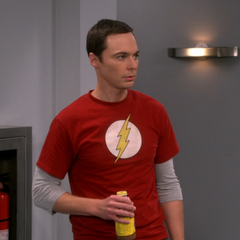 Sheldon and the Flash.