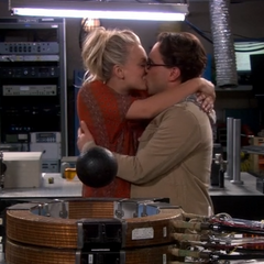 Making out in the lab.