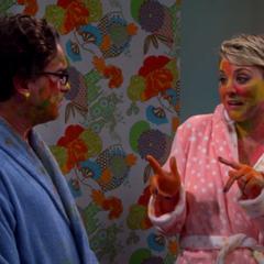 Tell Sheldon that William Shatner painted it.