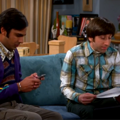 Raj worried about his space probe project.