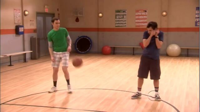 File:The rothman disintegration Sheldon and Kripke avoid the ball.jpg