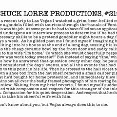 Chuck Lorre Productions, #219.