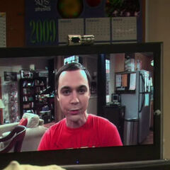 Sheldon taking credit for the prank against Kripke.