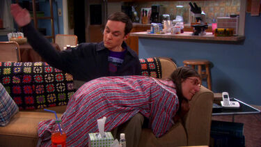 Sheldon punishing Amy harder