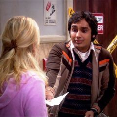Raj tries to apologize to Penny in a note.