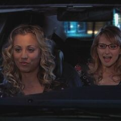 Penny and Bernadette.