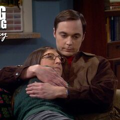 Despite the hesitance and awkwardness, Sheldon readily becomes Amy's