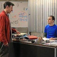 Barry expresses that Sheldon's work is not very good.