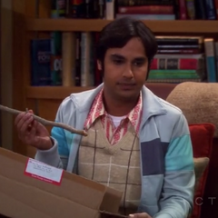 Raj is upset over the item he ordered from eBay that turned out being fake.