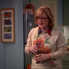 Bernadette's mother.