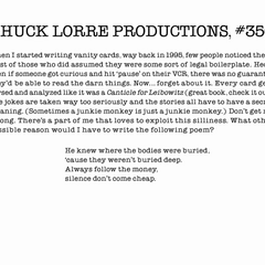 Chuck Lorre Productions, #356.
