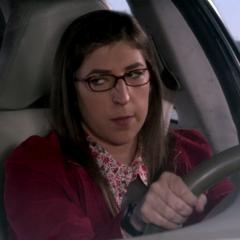 Amy taking Sheldon to the aquarium.
