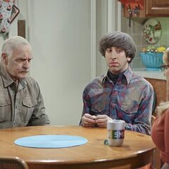 In the Wolowitz kitchen.