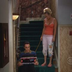 Sheldon exiled from his apartment.