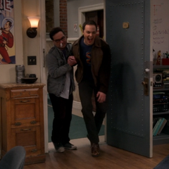 Sheldon hurt his feet.