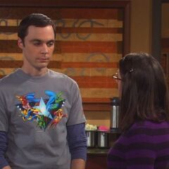 Sheldon intrigued by Amy.